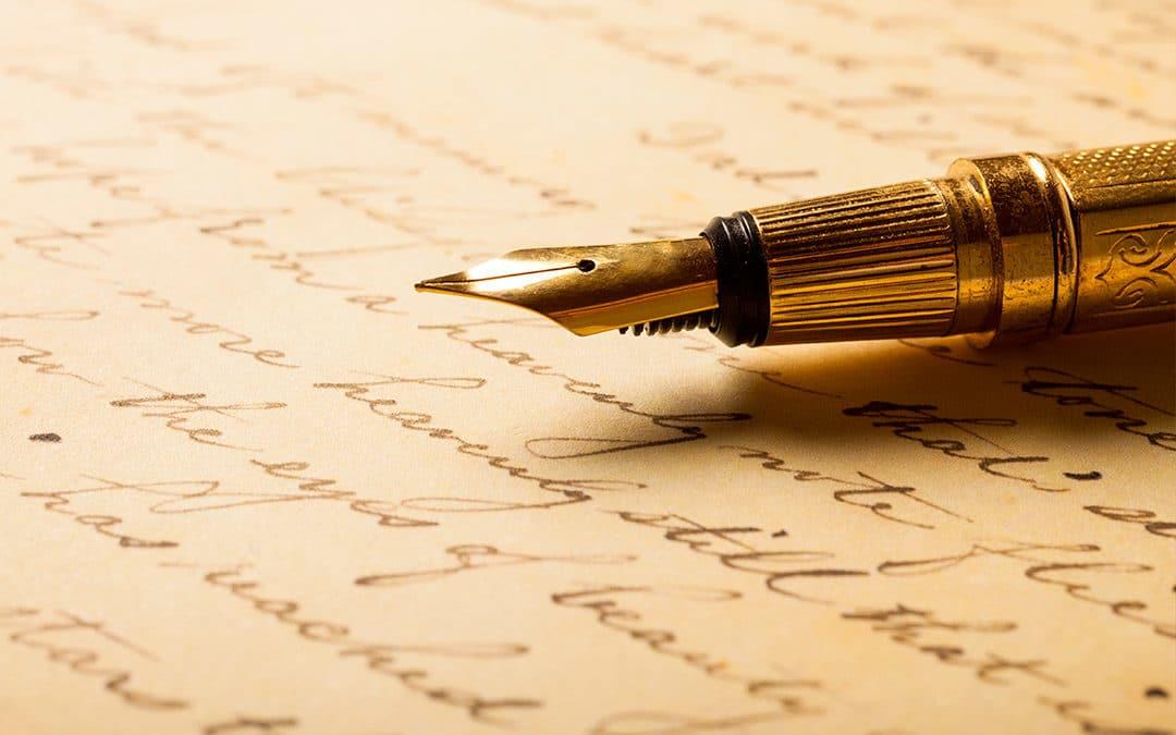 L'écriture, ma belle aventure..